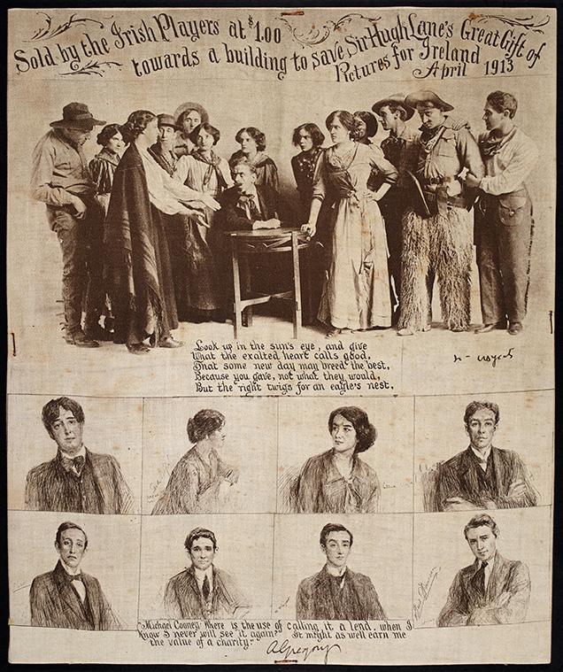 The Abbey Theatre Handkerchief
