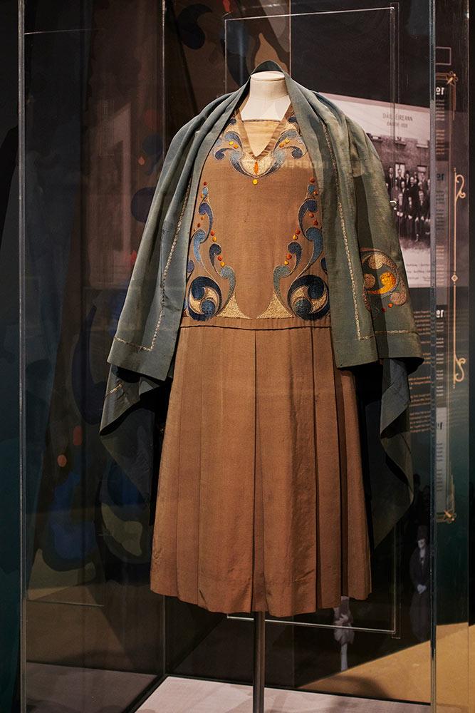 Celtic Revival Dress, Kate O'Callaghan TD