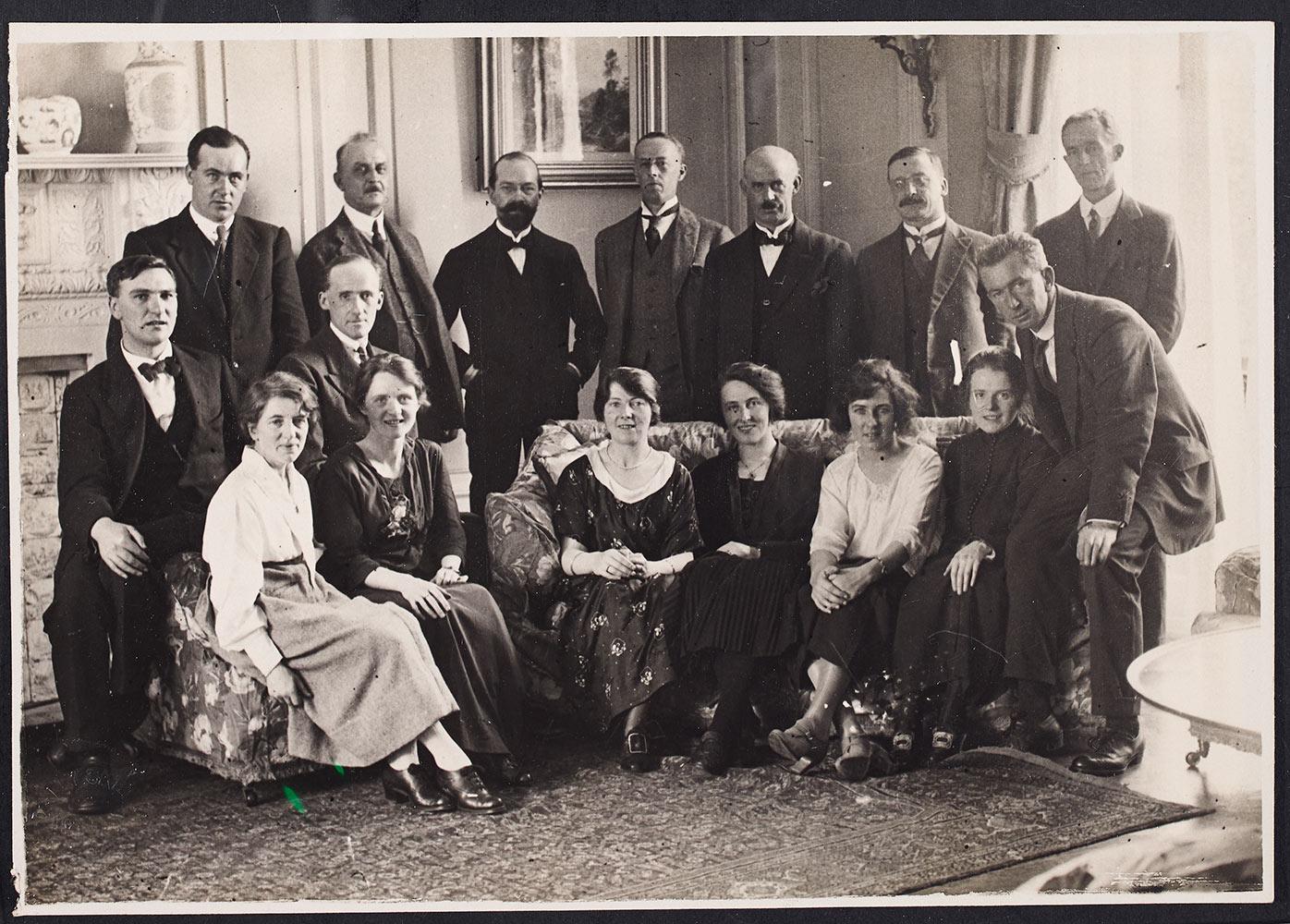 Treaty delegation -15th October 1921