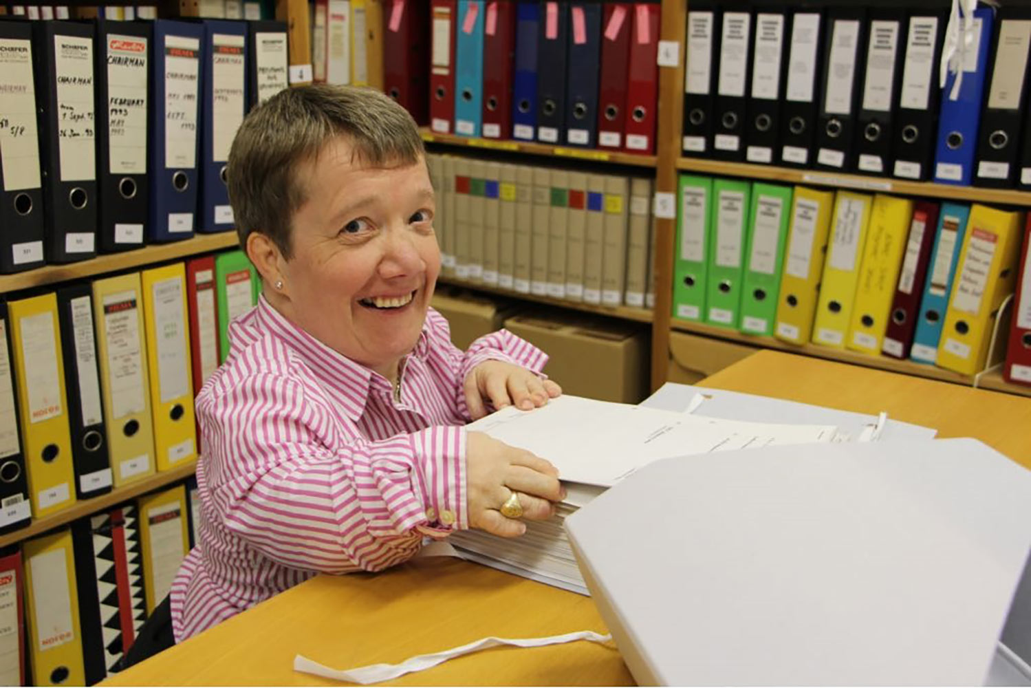 Elizabeth McAvoy, Archivist with responsibility for Education and Outreach