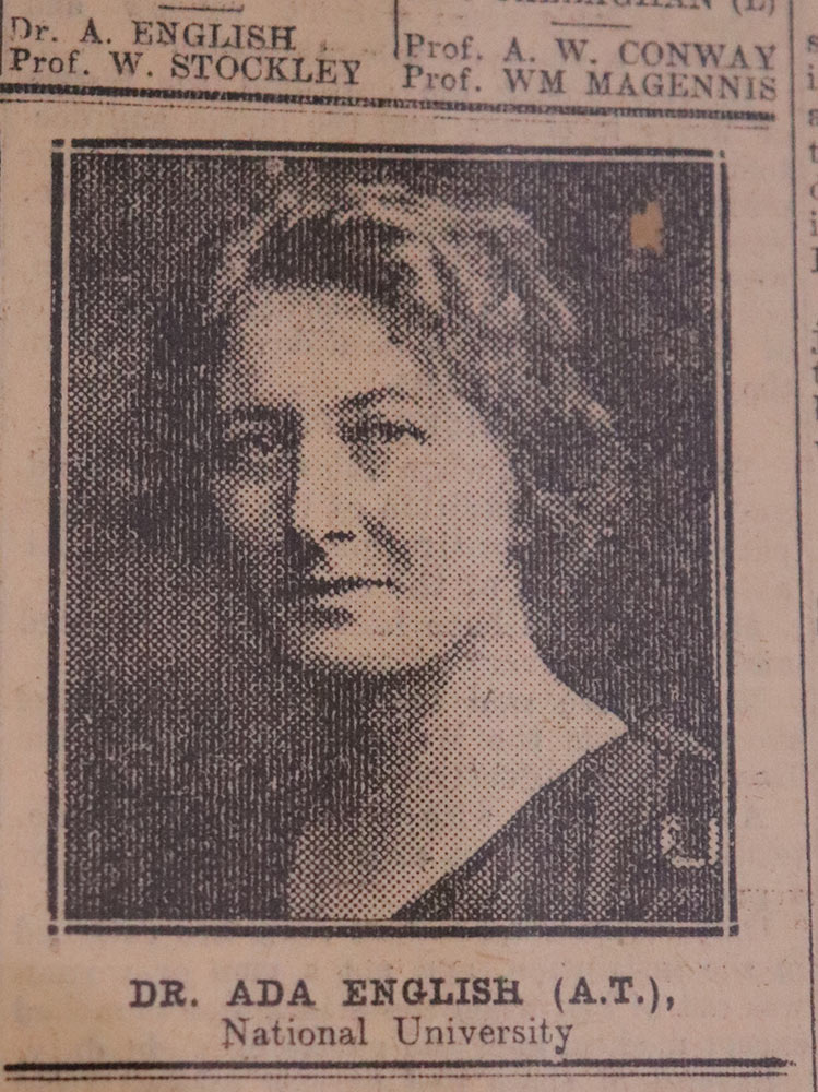 Dr. Ada English